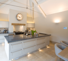 Kitchen lighting scheme by John Cullen
