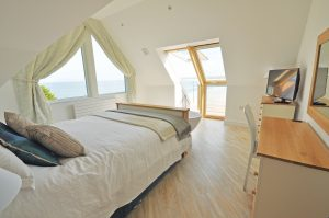Timber frame self-build on the Cornish cliffs