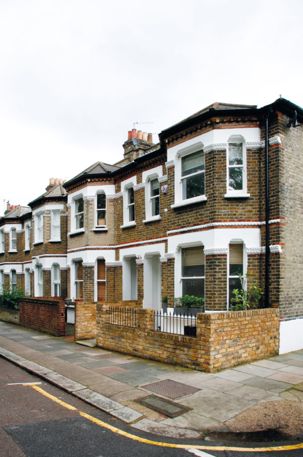 Victorian renovation in London with no planning application required