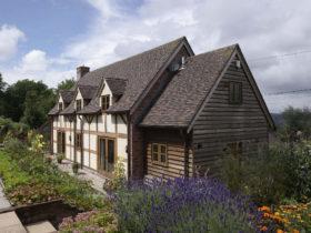 cottage style house by Border Oak