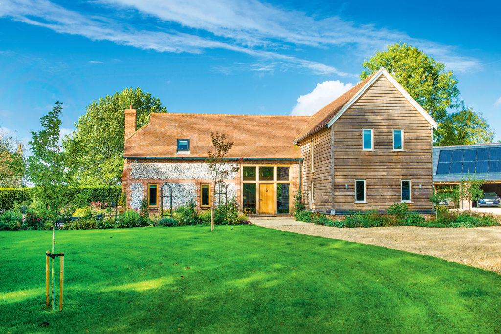 Barn style house exterior