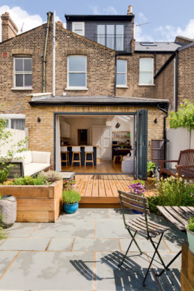 Extension and conversion of a Victorian terraced house