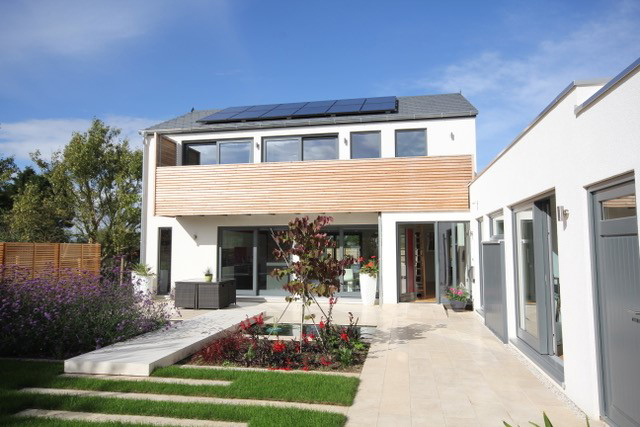 Energy efficient home manufactured offsite