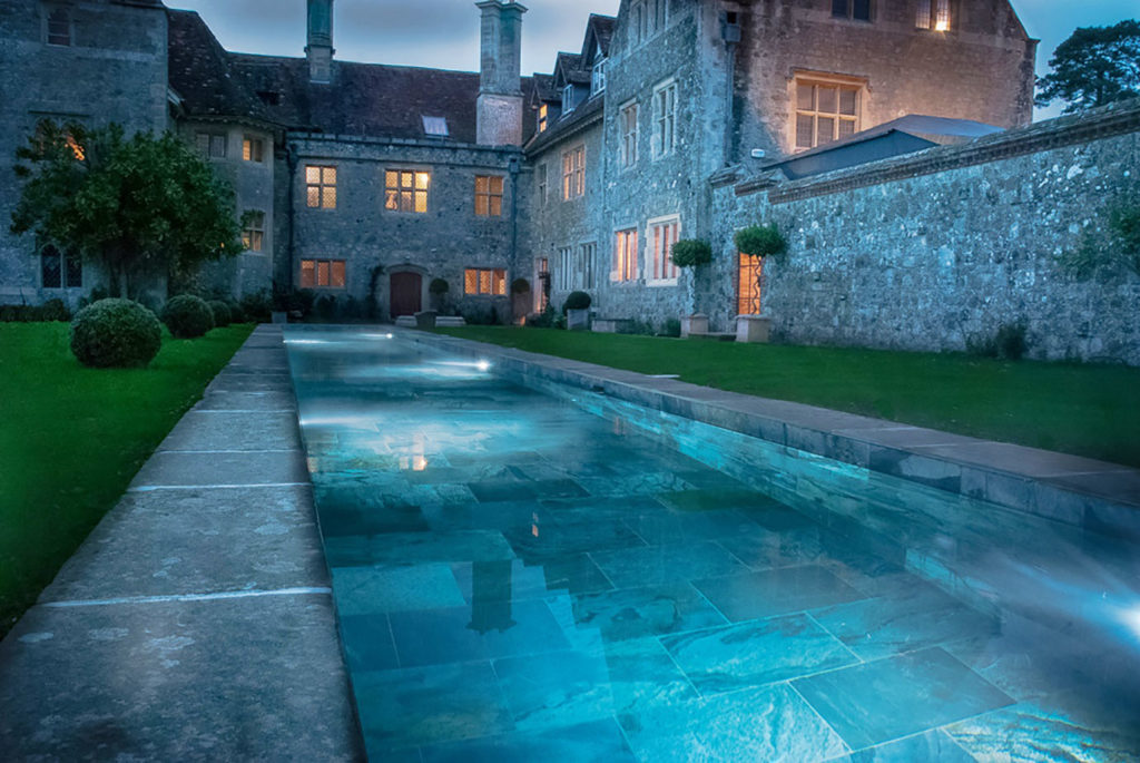 Luxury Swimming Pool in Listed Building\'s Garden - Build It