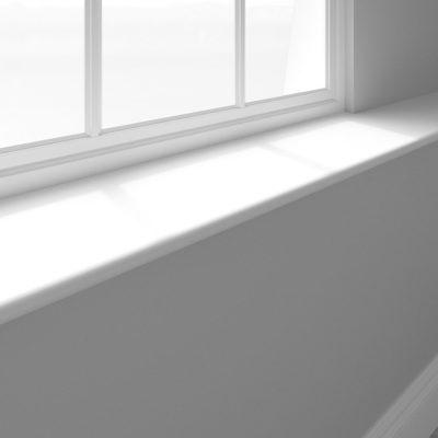 Skirting World window sill