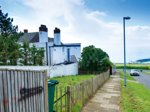 Sea view plot with planning permission