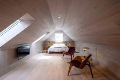 Large attic room