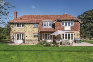 Modern self build with traditional character